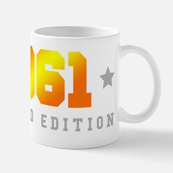 Limited Edition 1961 Birthday Mugs