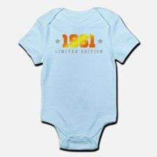Limited Edition 1961 Birthday Body Suit