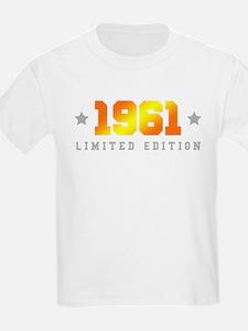Limited Edition 1961 Birthday T-Shirt