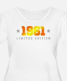 Limited Edition 1961 Birthday Plus Size T-Shirt