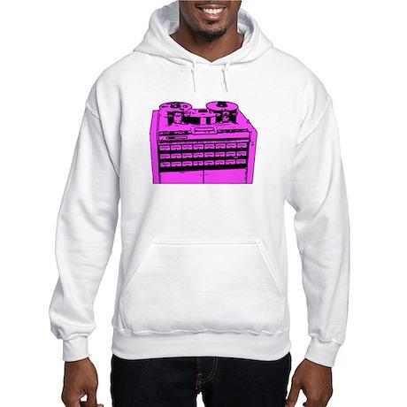 """24 Track 2"""" Tape Machine Hooded Sweatshirt"""
