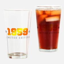 Limited Edition 1959 Birthday Drinking Glass