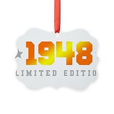 Limited Edition 1948 Birthday Ornament