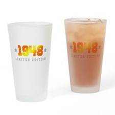 Limited Edition 1948 Birthday Drinking Glass