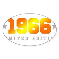 Limited Edition 1966 Birthday Decal