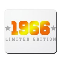 Limited Edition 1966 Birthday Mousepad