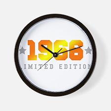 Limited Edition 1966 Birthday Wall Clock