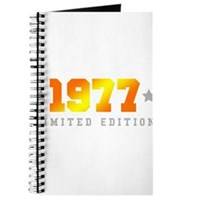 Limited Edition 1977 Birthday Journal