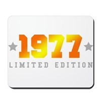 Limited Edition 1977 Birthday Mousepad