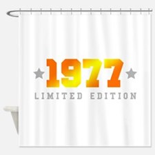 Limited Edition 1977 Birthday Shower Curtain