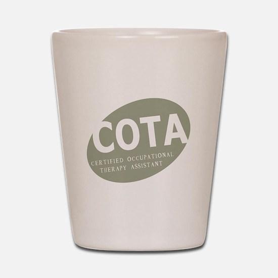 COTA-egg-green.png Shot Glass