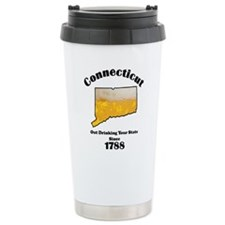 Connecticut is better then you Travel Mug