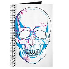 Unique Girly skulls Journal