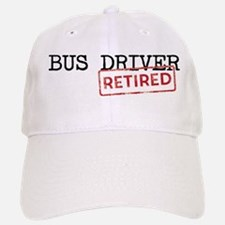 Retired Bus Driver Baseball Baseball Cap