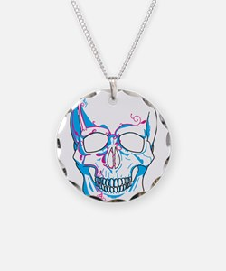 Skull with Vines Necklace