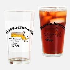 Massachusetts is better then you Drinking Glass