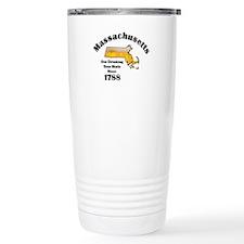 Massachusetts is better then you Travel Mug