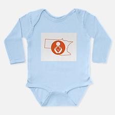 MN/ND Babywearing Orange Body Suit