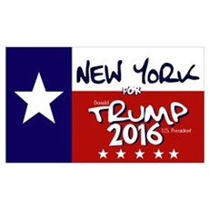NEW YORK FOR TRUMP Canvas Art
