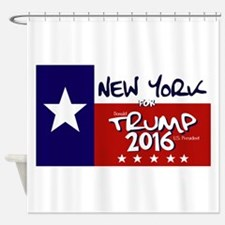 NEW YORK FOR TRUMP Shower Curtain