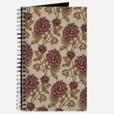 Vintage Dahlia Pattern Journal