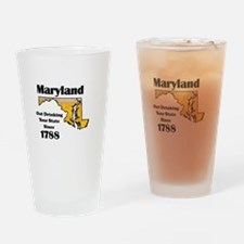 Maryland is better then you Drinking Glass