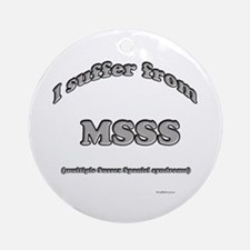 Sussex Syndrome Ornament (Round)