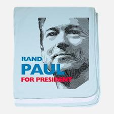 Rand Paul for president baby blanket