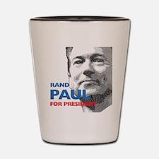 Rand Paul for president Shot Glass