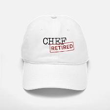 Retired Chef Baseball Baseball Cap