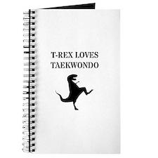 T-Rex Loves Taekwondo Journal