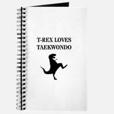 T-Rex Loves Taekwondo Journal