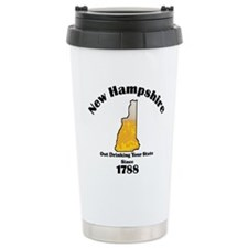 New Hampshire is better then you Travel Mug