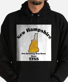 New Hampshire is better then you Hoodie