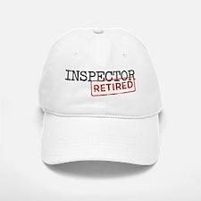 Retired Inspector Baseball Baseball Cap