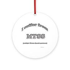Tibbie Syndrome Ornament (Round)