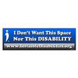 Invisible disability Single