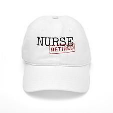 Retired Nurse Baseball Cap