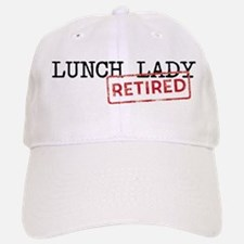 Retired Lunch Lady Cap
