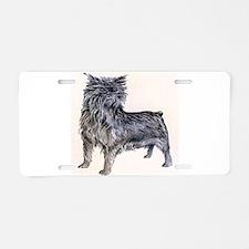 Affenpinscher Aluminum License Plate