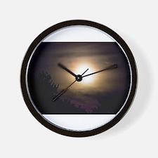 Luminous Night Wall Clock
