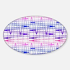 Abstract Serendipity Blue Pink Barbara's F Decal