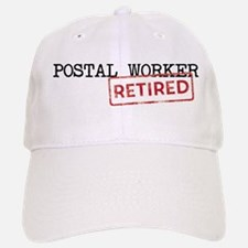 Retired Postal Worker Baseball Baseball Cap