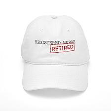 Retired Registered Nurse Baseball Cap