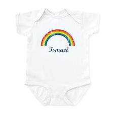 Ismael vintage rainbow Infant Bodysuit