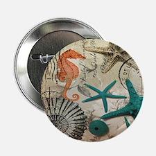 "french beach sea shells 2.25"" Button (100 pack)"