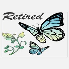 Retired w/ Butterflies