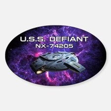 DEFIANT PIA17563 Sticker (Oval)