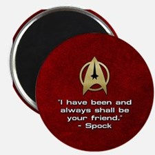 SPOCK YOUR FRIEND Magnet