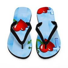 jesus anchor Flip Flops